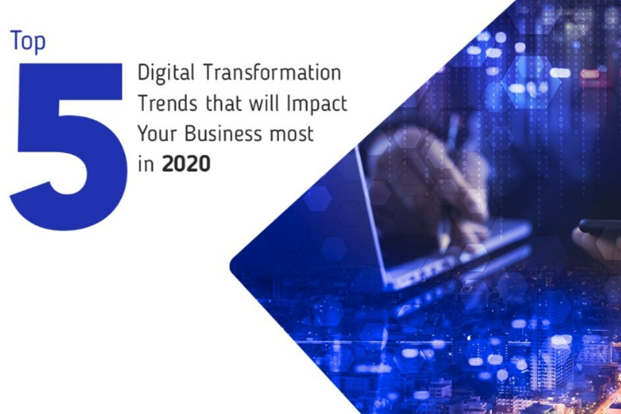 Top 5 Digital Transformation Trends For Businesses In 2020