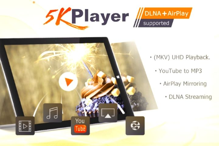 5KPlayer – Free To Play, Download And Stream 4K/HD Videos