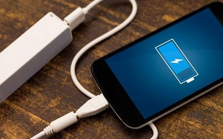 An Electrode To Charge The Mobile In Seconds