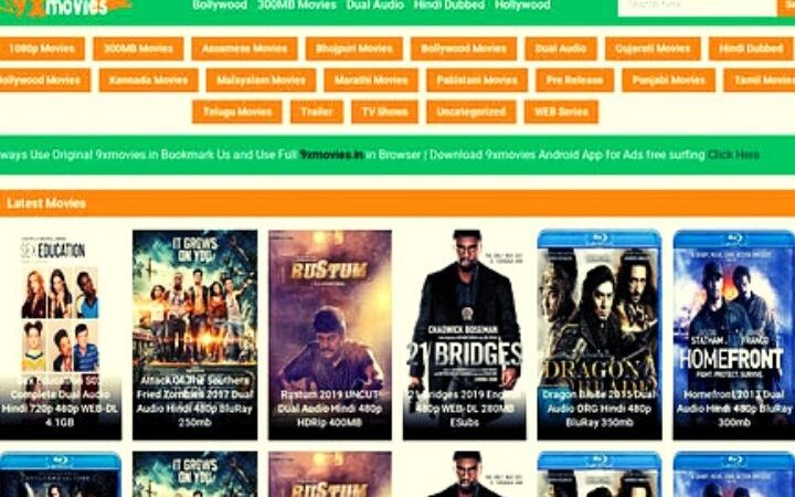 9X Movies2020- Latest News, New Bollywood HD Movies Website News