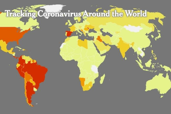 Dangerous Area. Google Maps Will Show The Number Of COVID-19 Infections In A Specific Location