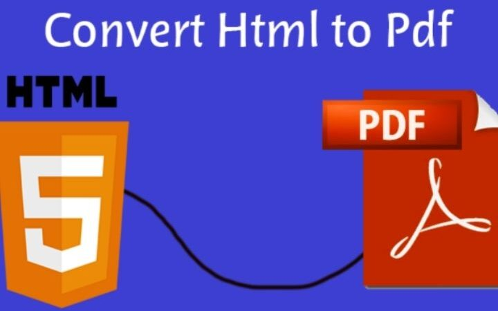 HTML To PDF Conversion Made Easy With PDFBear!