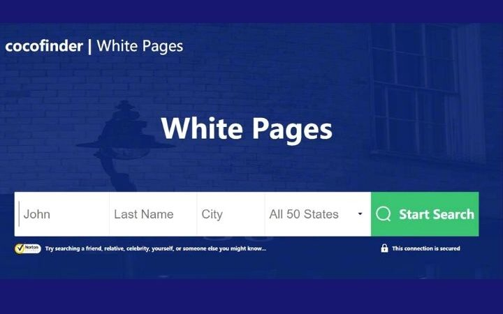The Most Recommendable White Pages Tool - CocoFinder