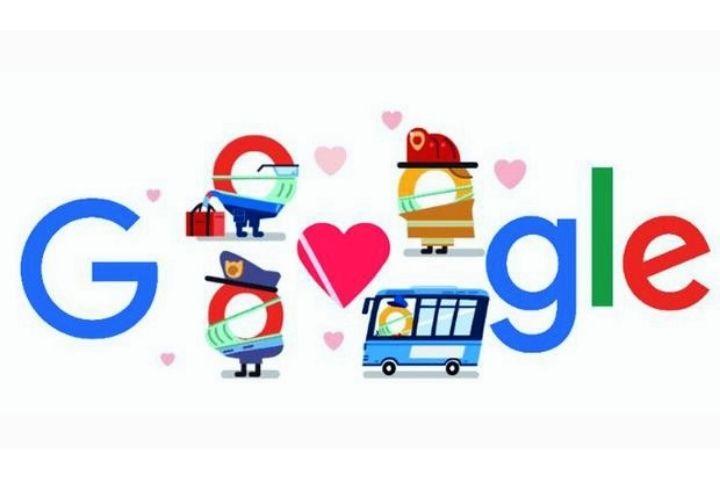 Thank You Coronavirus Helpers: Google's Latest Doodle