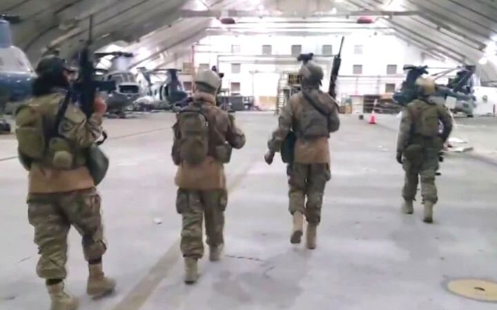 The United States Completes The Withdrawal Of It's Troops From Afghanistan